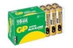 151053 - Gold Peak LR03/AA Super Alkaline 16-pack