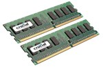 CT2KIT25664AA800 - Crucial DDR2-800 DC - 4GB