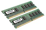 CT2KIT12864AA800 - Crucial DDR2-800 DC - 2GB
