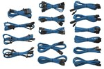 CP-8920046 - Corsair Sleeved Cable Kit - Blue