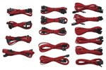 CP-8920049 - Corsair Sleeved Cable Kit - Red
