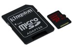 SDCA3/64GB - Kingston MicroSDHC Class U3 HS - 64GB