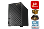 90IX00M1-BW3S10 - ASUSTOR AS3102T - NAS & Streaming server
