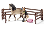 42270 - Schleich Bondegårdsdyr Horse care set Andalusian