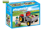 6131 - Playmobil - Country - Harvesting Tractor - 6131