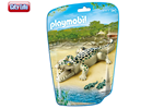6644 - Playmobil - City Life - Alligator with Babies - 6644