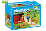6134 - Playmobil Golden Retrievers with Toy