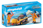 5396 - Playmobil Aircraft Tug with Ground Crew