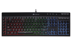 CH-9206015-ND - Corsair Gaming K55 RGB - ND - Gaming Tastatur - Nordisk - Svart
