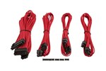 CP-8920145 - Corsair Premium Individually Sleeved PSU Cable Kit Starter Package Type 4 (Generation 3) - Red