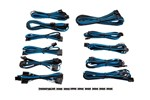CP-8920157 - Corsair Premium Individually Sleeved PSU Cable Kit Pro Package Type 4 (Generation 3) - Blue/Black