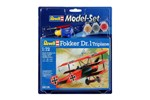 64116 - Revell Model Set-Fokker Dr. 1