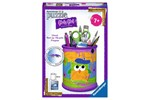 121069 - Ravensburger Girly Girl 3D puzzle Funky Owls-pencil holder