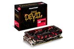 AXRX 580 8GBD5-3DHG/OC - PowerColor Radeon RX 580 Red Devil Golden Sample - 8GB GDDR5 RAM - Grafikkort