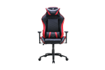 TS-F710-RD - Tesoro Zone Balance Gaming Chair Red Gamer Stol - Svart / Rød - PU skinn - Opptil 120 kg
