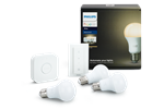 929001137061 - Philips Hue White 3 Bulbs + Switch Starter Kit