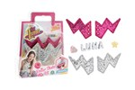 100531 - Soy Luna Slide Charms with Flash Wings Puff