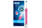 178736 - Oral-B Eltandbørste Pro 2 2000 CrossAction elektrisk tandbørste