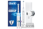202851 - Oral-B Eltandbørste Genius 10000N White Elektrisk Tandbørste Powered by Braun