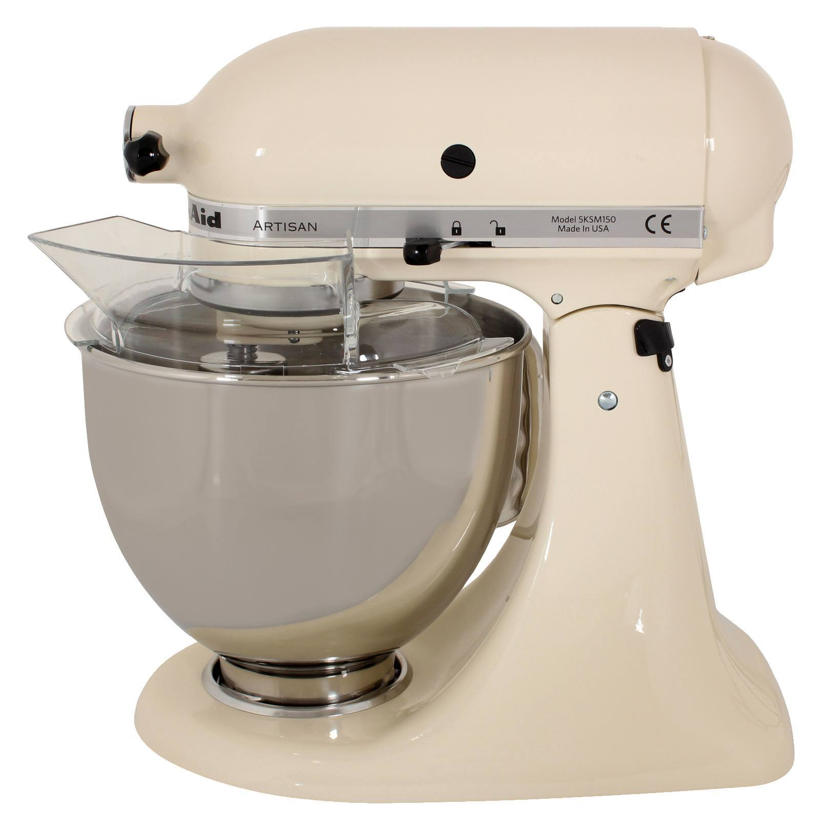 kitchenaid k chenmaschine artisan 5ksm150pseac creme g nstig. Black Bedroom Furniture Sets. Home Design Ideas