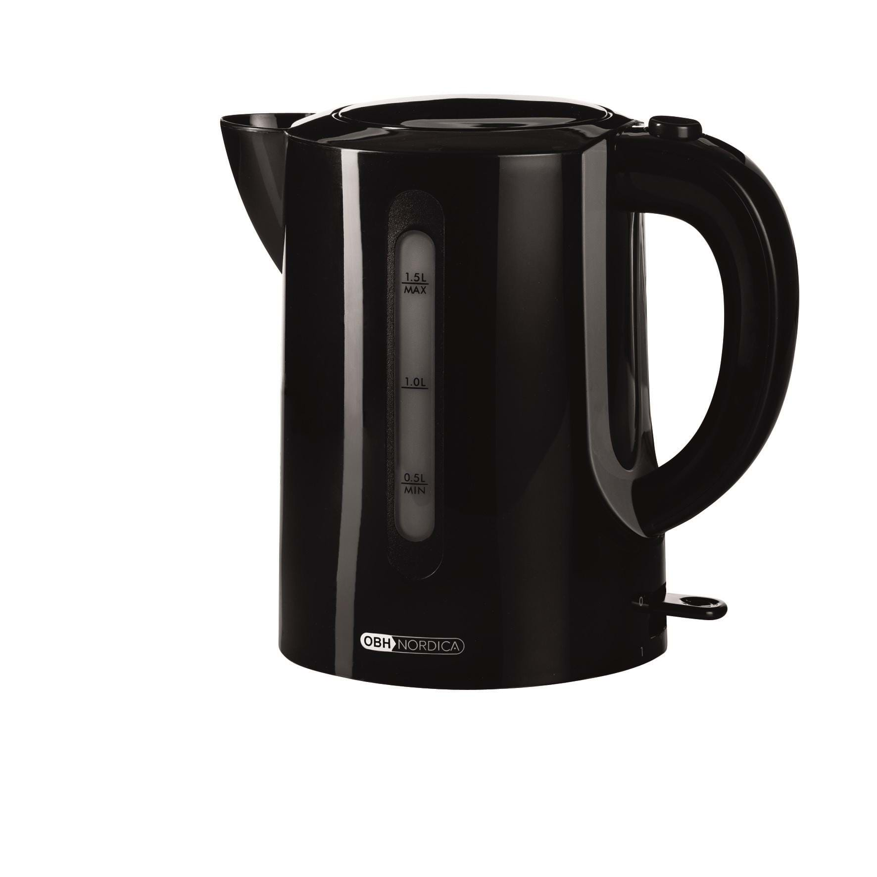 OBH Nordica Elkedel Kettle Spirit Black - 6411 - Sort - 2000 W