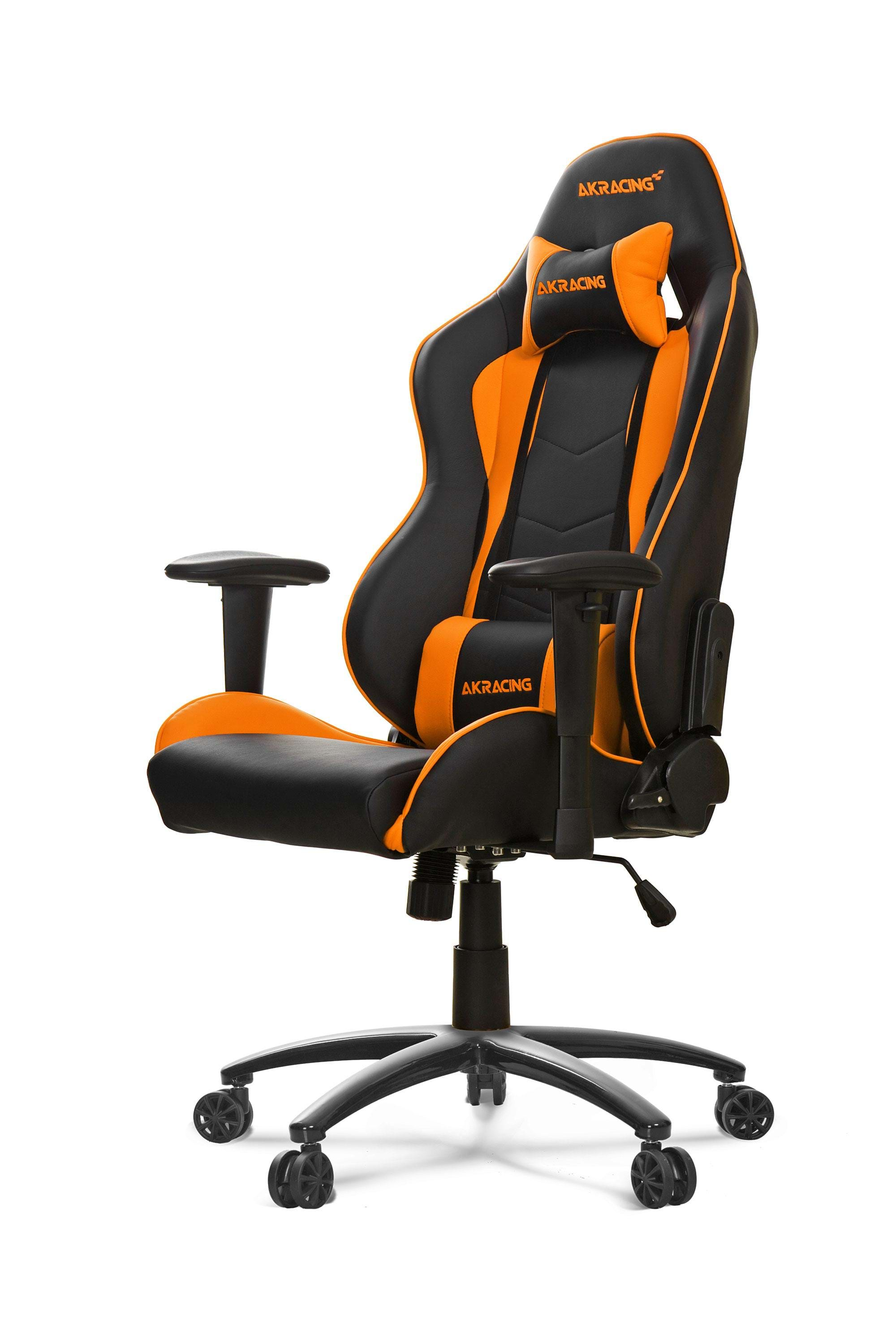 akracing nitro gaming stuhl orange gaming stuhl schwarz orange pu leder bis zu 150 kg. Black Bedroom Furniture Sets. Home Design Ideas