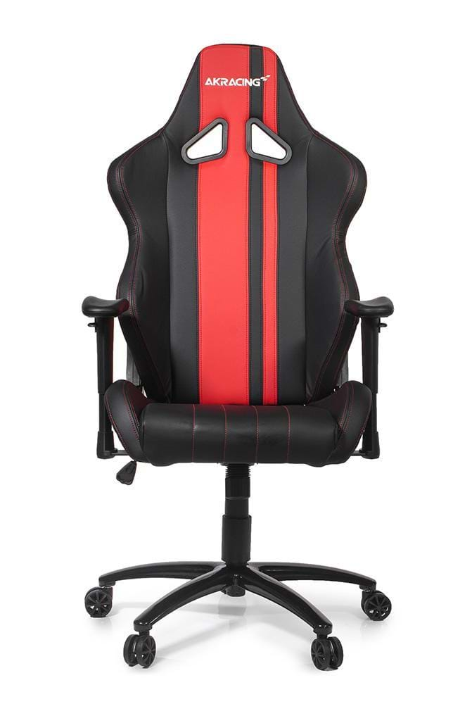 akracing rush gaming stuhl red gaming stuhl schwarz rot pu leder bis zu 150 kg. Black Bedroom Furniture Sets. Home Design Ideas