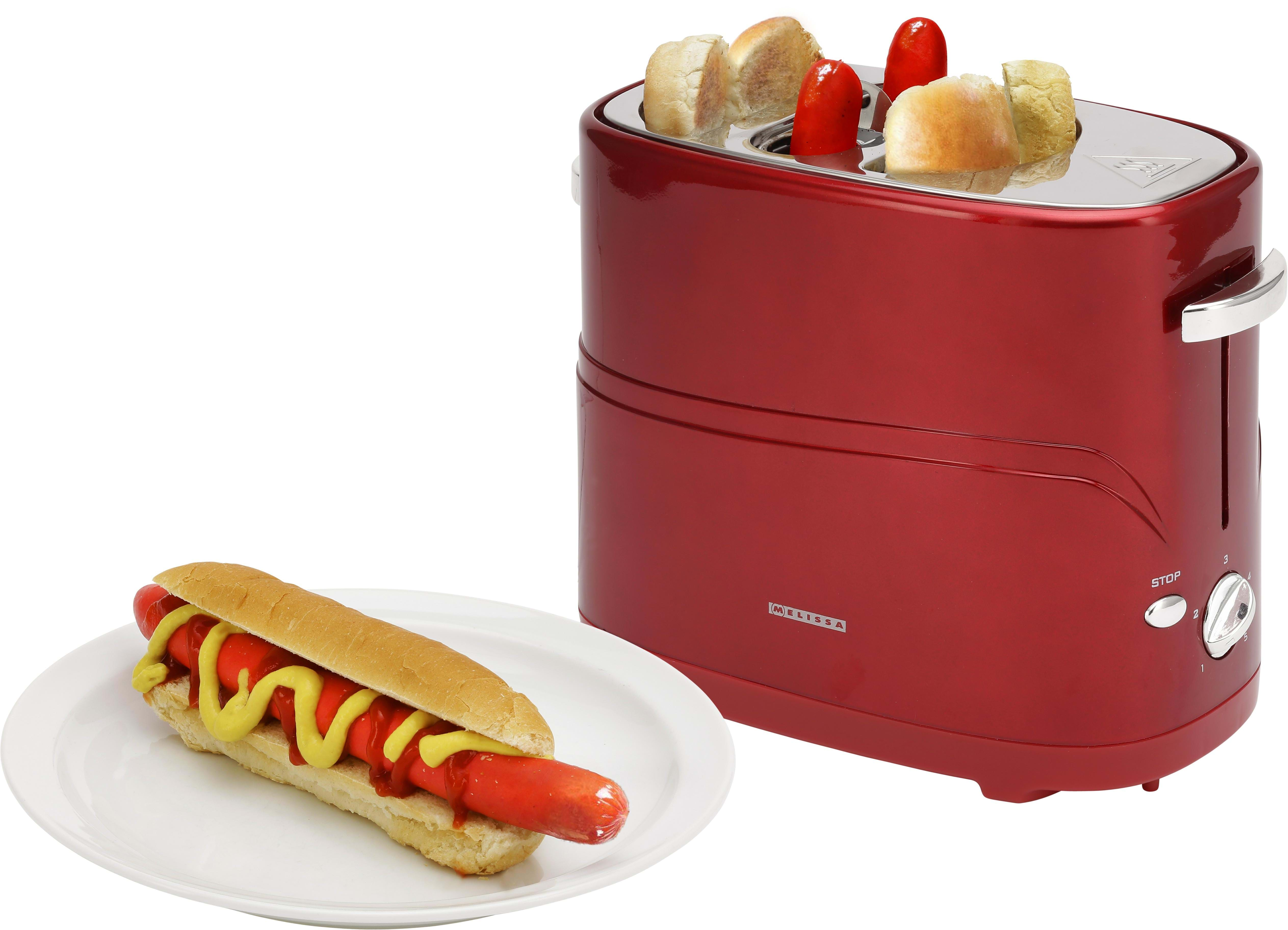 melissa hot dog maker red auf lager g nstig. Black Bedroom Furniture Sets. Home Design Ideas
