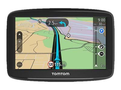 tomtom start 42 gps navigator bil 4 3 tum bredbild billig. Black Bedroom Furniture Sets. Home Design Ideas