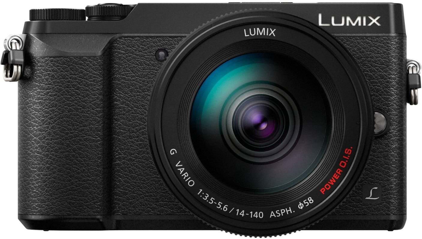 Panasonic lumix dmc gx80 14 140mm black billig for Housse lumix gx80