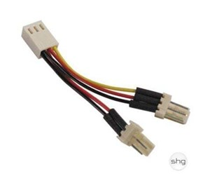 SSI-36 - DELTACO 3-pin Splitter Cable