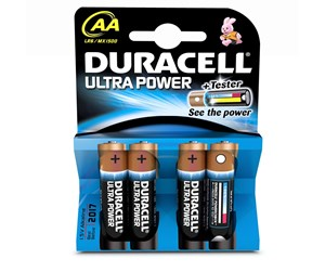 LR6/MN1500 - DURACELL AA / LR6 / MN1500 - 4 Pack