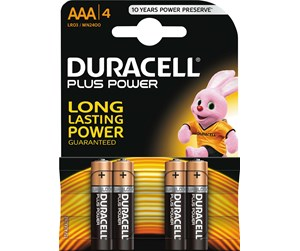 038141 - DURACELL AAA 4-P PLUS