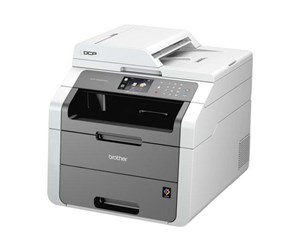 DCP9020CDWZW1 - Brother DCP-9020CDW Laserprinter Multifunktion - Farve - LED