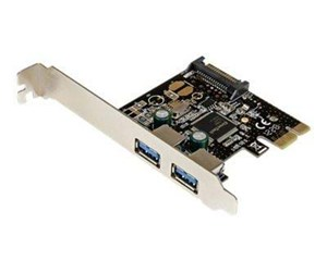 PEXUSB3S23 - StarTech.com 2 Port PCI Express USB 3.0 Controller Card w/ SATA Power