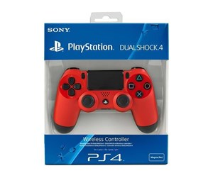 9200994 - Sony Playstation 4 Dualshock - Red - Gamepad - Sony PlayStation 4