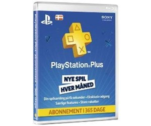 711719260233 - PSN Plus Card 12m Subscription DK - Sony PlayStation 4 - Diverse