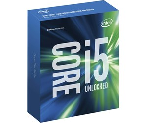 BX80662I56600K - Intel Core i5-6600K Skylake Prosessor - 3.5 GHz - Intel LGA1151 - 4 kjerner (Quad-Core) - Intel Boxed