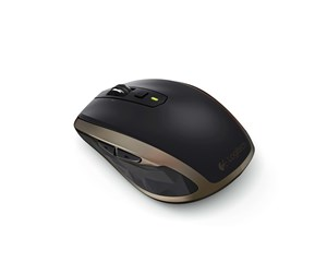 910-004374 - Logitech MX Anywhere 2 Wireless Mouse Black - Mus - Laser - 6 knapper - Sort