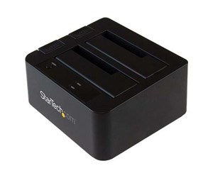 "SDOCK2U313 - StarTech.com USB 3.1 Gen 2 (10Gbps) Dual-Bay Dock for 2.5""/3.5"" SATA Drives"