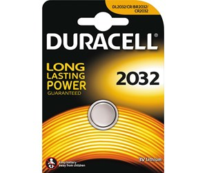 39-460-057 - DURACELL Long Lasting 3V CR2032