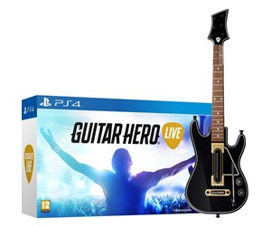 5030917171161 - Guitar Hero: Live with Guitar - Sony PlayStation 4 - Musikk