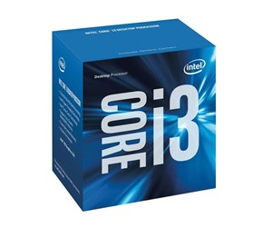 BX80662I36100 - Intel Core i3-6100 Skylake Prosessor - 3.7 GHz - Intel LGA1151 - 2 kjerner (Dual-Core) - Intel Boxed