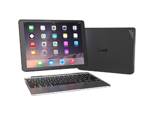 ID7ZF2-BBN - Zagg SLIM BOOK iPad Pro - Black -