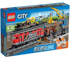 60098 - LEGO City Heavy-Haul Train - 60098
