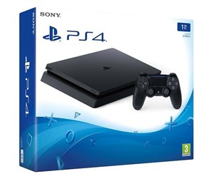 0711719850755  - Sony PlayStation 4 Slim Black - 1TB