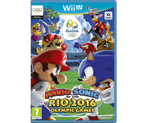 0045496336417 - Mario & Sonic At The Rio 2016 Olympic Games - Nintendo Wii U - Sport