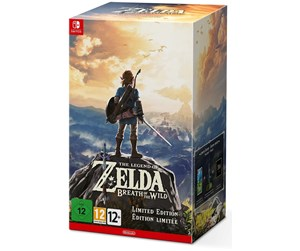 0045496420116 - The Legend of Zelda: Breath of the Wild - Limited Edition - Nintendo Switch - Eventyr