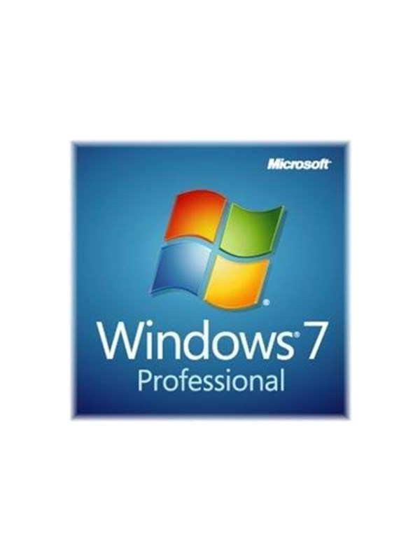 Microsoft Windows 7 Professional w/SP1 Engelsk FQC-08289