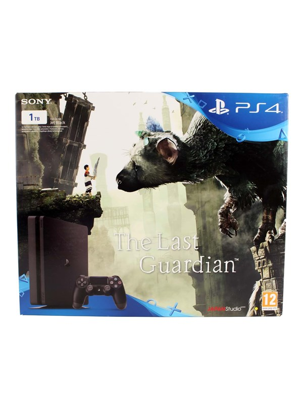 PlayStation 4 Slim Black - 1TB (The Last Guardian Bundle)
